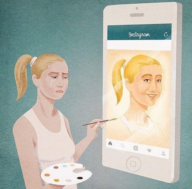 Face - Instagram