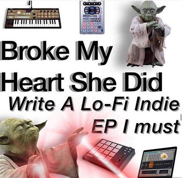 Font - Broke My Heart She Did Write A Lo-Fi Indie EP I must
