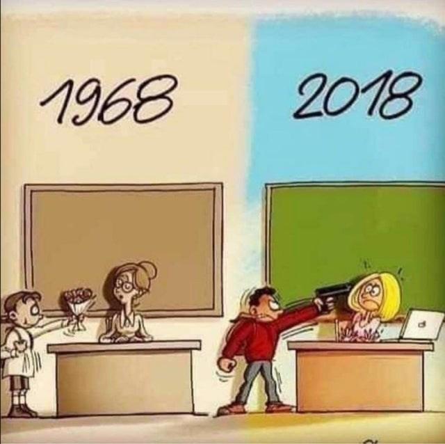 Cartoon - 2018 1968
