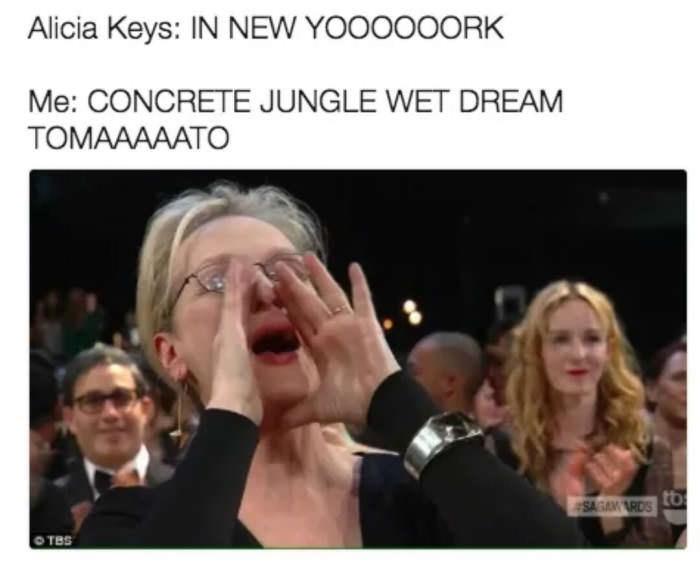 Eyewear - Alicia Keys: IN NEW YOOOOOORK Me: CONCRETE JUNGLE WET DREAM TOMAAAAATO SAGA RDSO OTBS