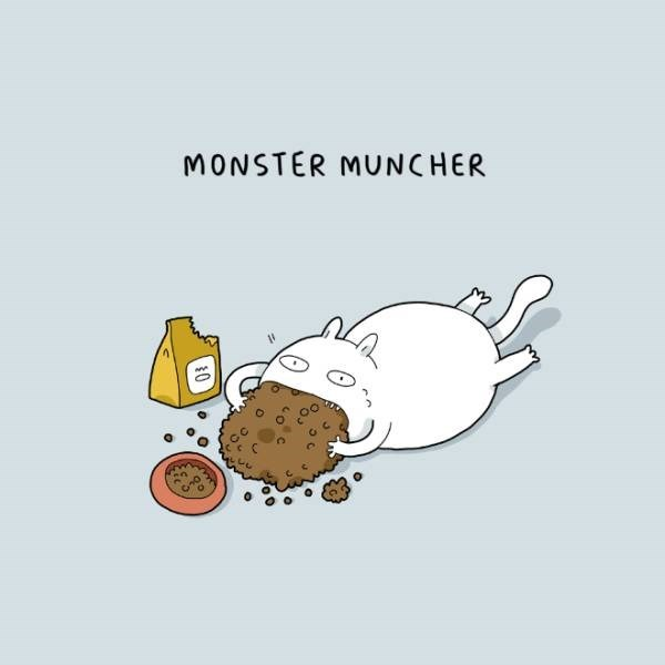 Cartoon - MONSTER MUNCHER 0