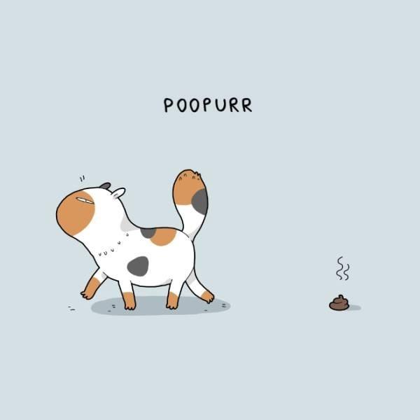 Cartoon - POOPURR