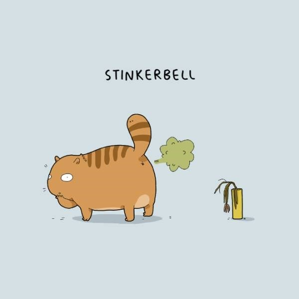 Cartoon - STINKERBELL
