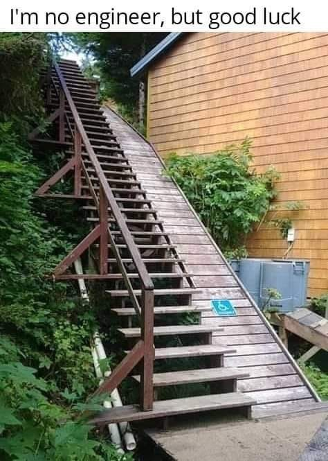 Stairs - I'm no engineer, but good luck