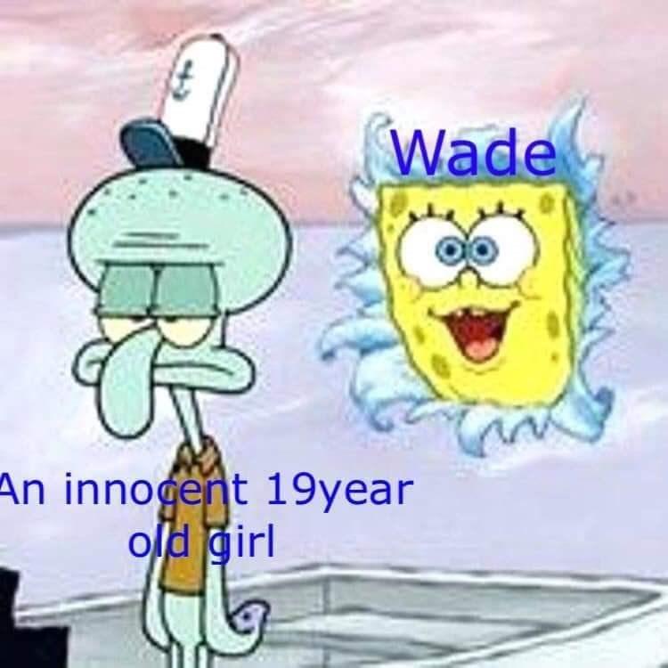 Cartoon - Wade An innogent 19year