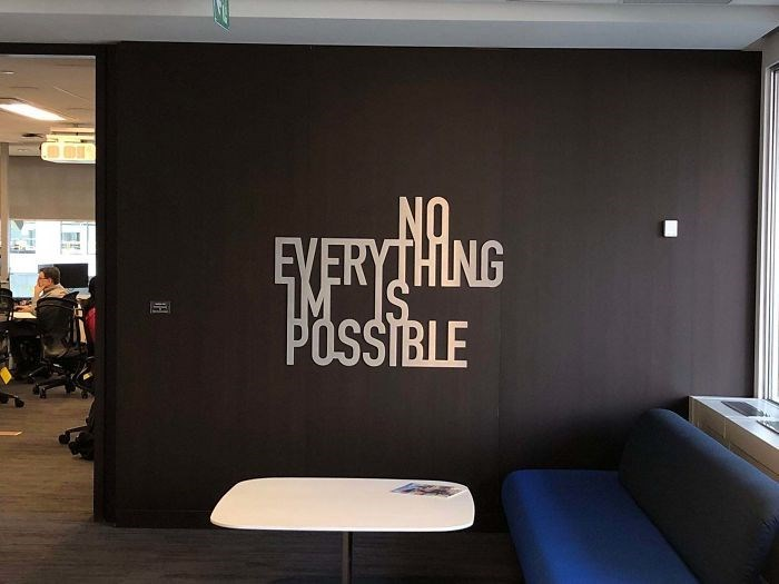 Wall - EYERYTHING POSSIBLE