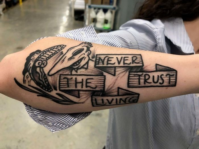 Tattoo - INEVER THE TRUST AUVING