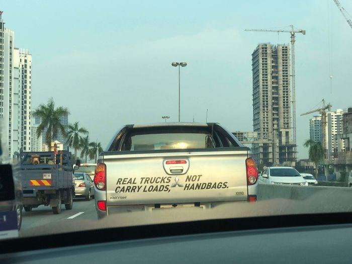 Motor vehicle - NOT HANDBAGS REAL TRUCKS CARRY LOADS vavr TTTT