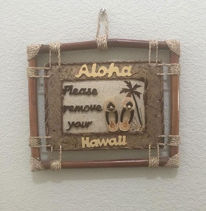 Font - Aloha Please remove your Hawall