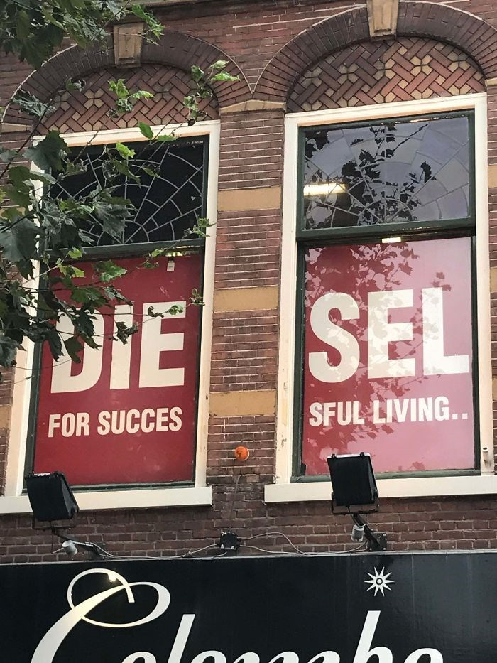Advertising - DIE SEL FOR SUCCES SFUL LIVING.. laaaho