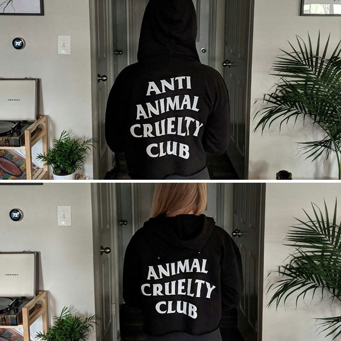 Clothing - ANTI ANIMAL CRUELTY CLUB 72 ANIMAL CRUELTY CLUB