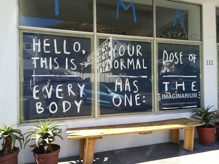 Blackboard - HELLO, OUR THIS IS ORMAL St OF HAS ONE: 111 THE IMAGINARIUM EVERY BODY A place dedicated to dhe imspihation