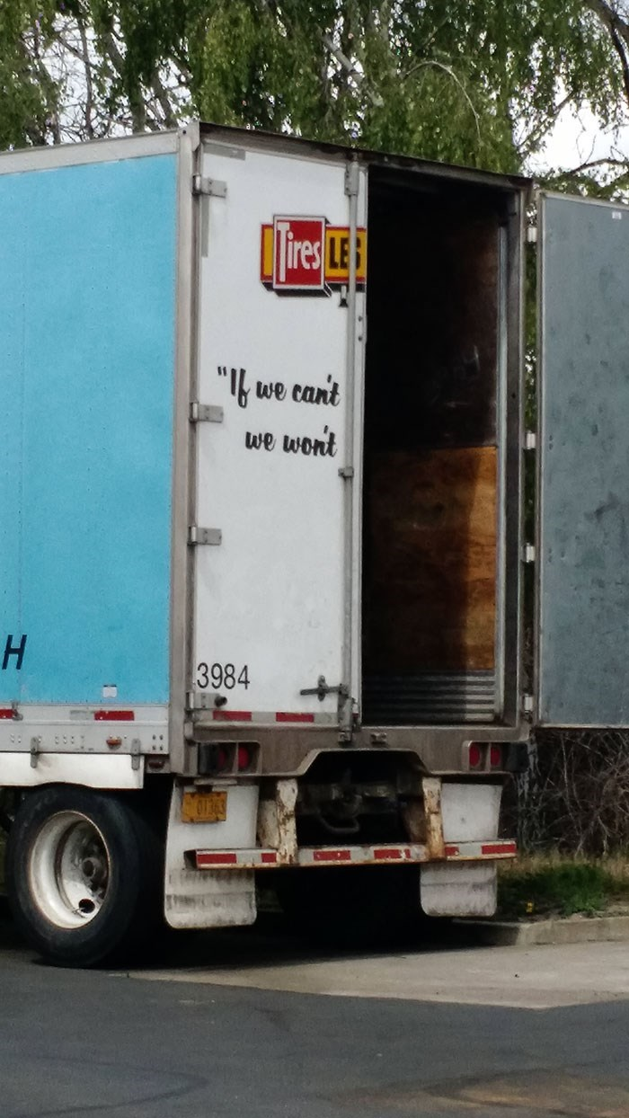 "Transport - ""we cant we wont H 3984"