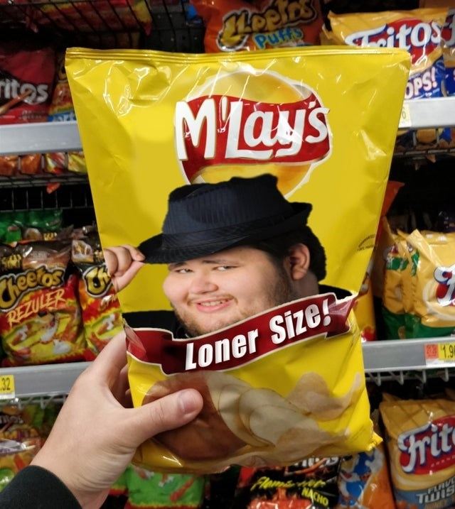 Junk food - ह2 PuHts ritos itos MTay's OPS heets REZULER 32 Loner Size 1.9 Frit NACHO PARVE Twis