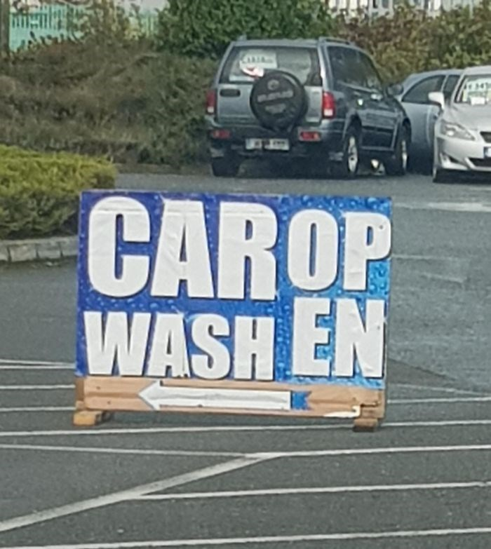 Motor vehicle - CAROP WASH EN