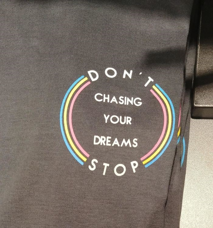 Product - ON CHASING YOUR DREAMS STOP