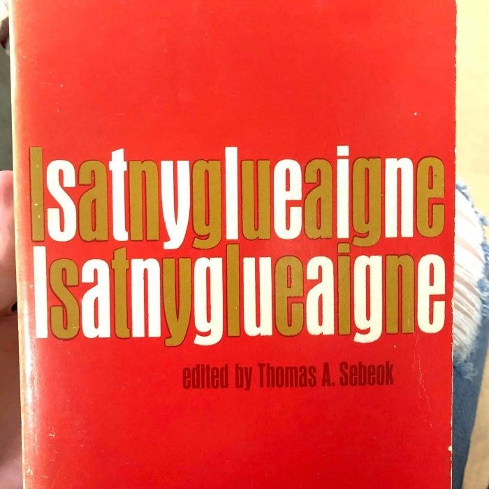 Red - Stylierone sanigueagie edited by Thomas A. Sebeok