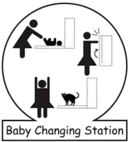 Font - |Baby Changing Station
