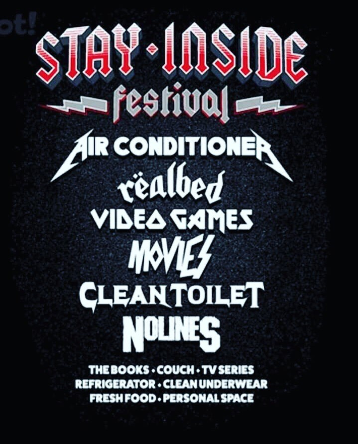 Font - ot! STAY 10SIDE festival IR CONDITIONER tealbed VIDEA GAMES MOVES CLEANTOILET NOLINES THEBOOKS COUCH TV SERIES REFRIGERATOR CLEAN UNDERWEAR FRESH FOOD PERSONAL SPACE