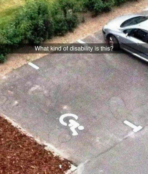 Asphalt - What kind of disability is this?