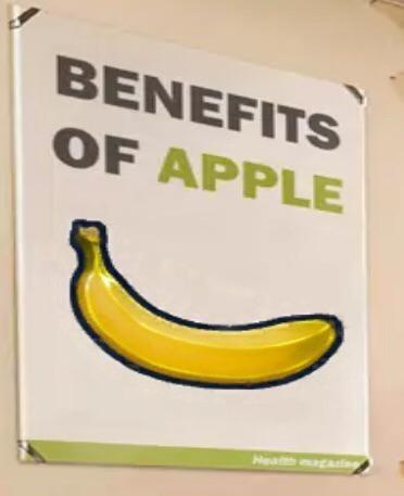 Banana - BENEFITS OF APPLE Health gAing