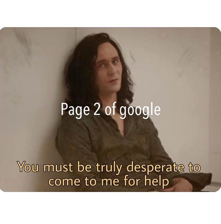 Brown - Page 2 of google You must be truly desperate to come to me for help