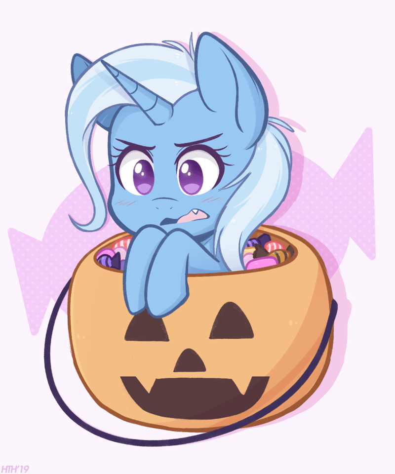 the great and powerful trixie halloween higgly-chan - 9370179840