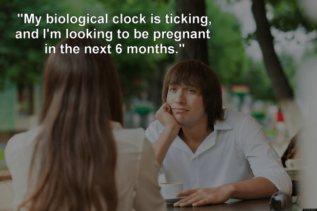 """Adaptation - """"My biological clock is ticking, and I'm looking to be pregnant in the next 6 months."""""""