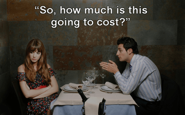 """Conversation - """"So, how much is this going to cost?"""""""
