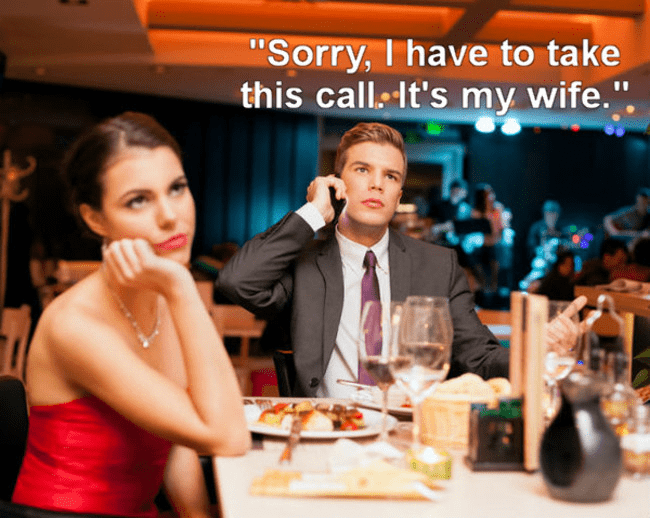 """Event - """"Sorry, I have to take this call. It's my wife."""""""