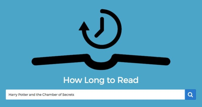 Text - How Long to Read Harry Potter and the Chamber of Secrets