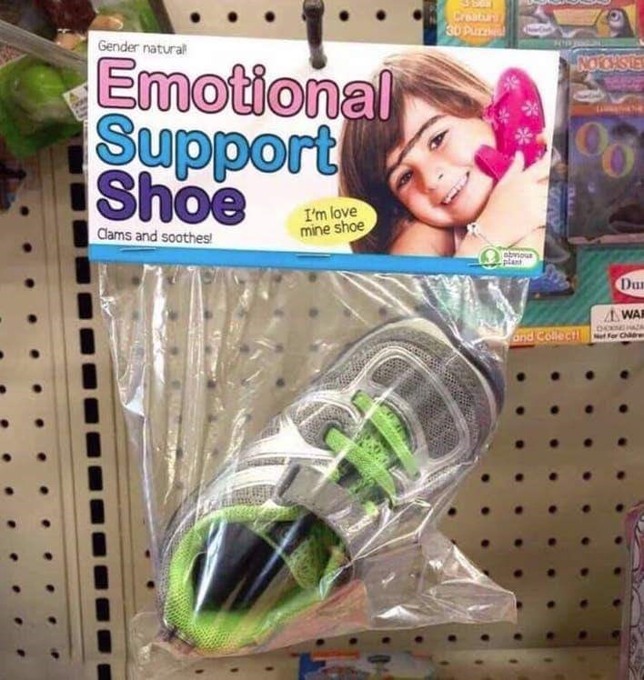 Toy - Craatun 3U Pu Gender natural Emotional Support Shoe NOCHSE 96 I'm love mine shoe Clams and soothes abvios plant Du WA and Collect Net For Chre