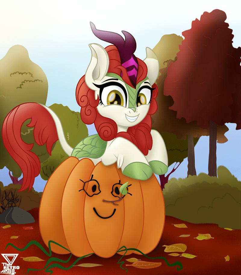 halloween theretroart88 autumn blaze - 9370755072
