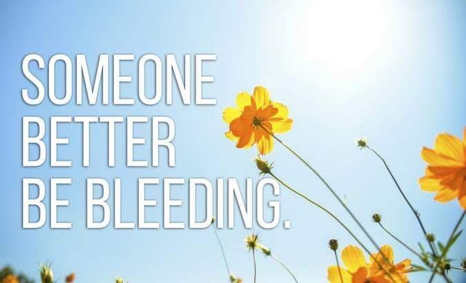 Nature - SOMEONE BETTER BE BLEEDING
