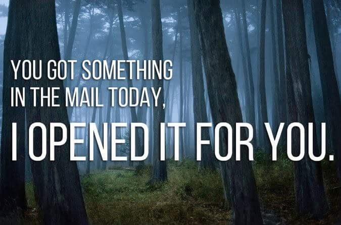 Nature - YOU GOT SOMETHING IN THE MAIL TODAY OPENED IT FOR YOU