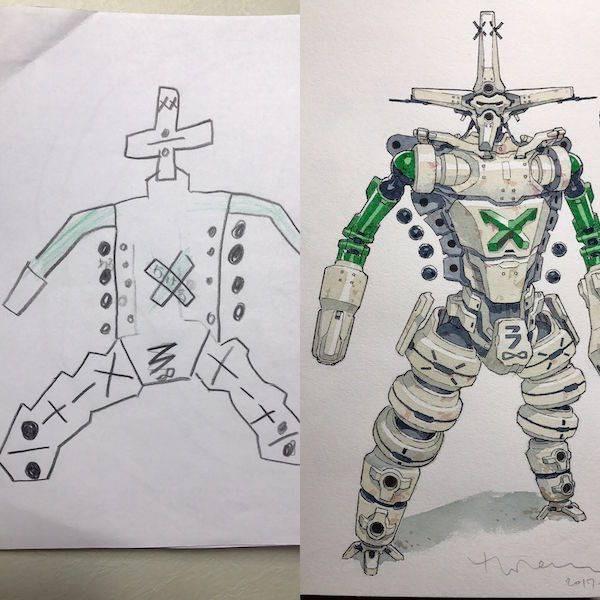 Drawing - tIn