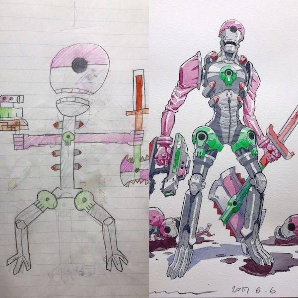 Drawing - lan 6 6