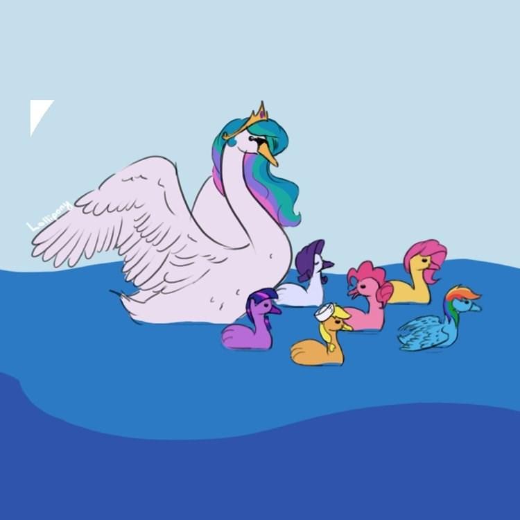 applejack twilight sparkle pinkie pie rarity princess celestia fluttershy rainbow dash lollipony brony - 9371137792
