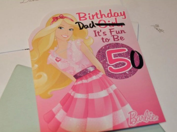 Pink - Birthday DadOil It's Fun to Be Patt Balite