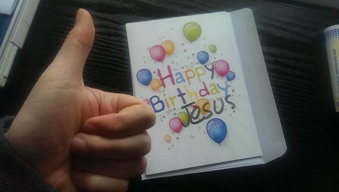 Hand - Happy Birthday esus