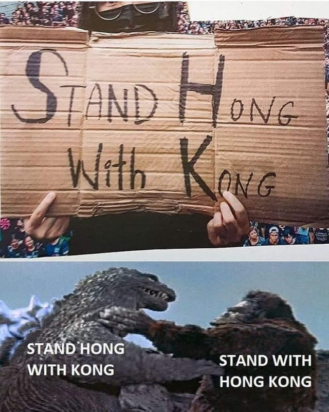 Font - TAND With K ONG ONG STAND HONG STAND WITH WITH KONG HONG KONG