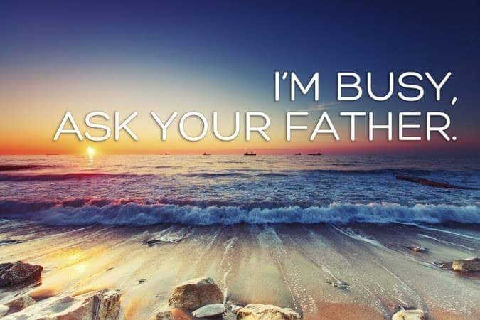 Sky - I'M BUSY, ASK YOUR FATHER