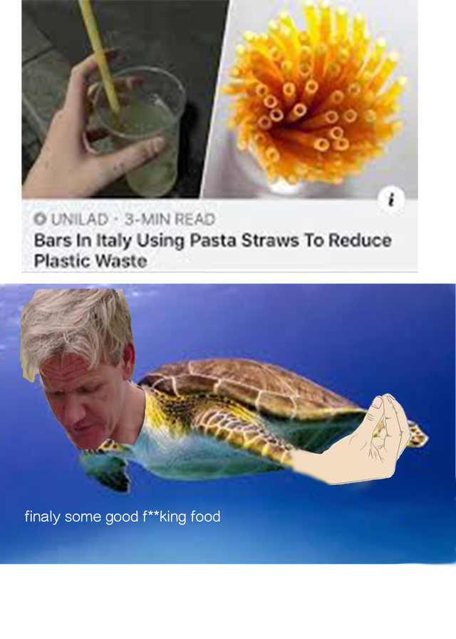 Organism - OUNILAD 3-MIN READ Bars In Italy Using Pasta Straws To Reduce Plastic Waste finaly some good f**king food