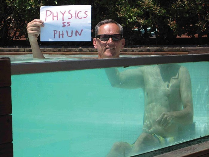 Swimming pool - PHYSICS IS PHUN