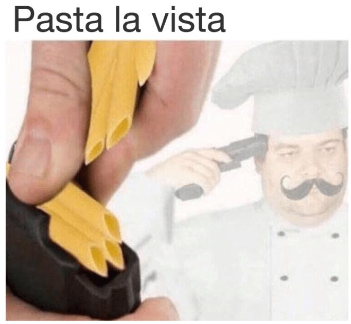 Hand - Pasta la vista