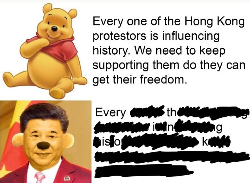 Cartoon - Every one of the Hong Kong protestors is influencing history. We need to keep supporting them do they can get their freedom 3th Every g isfo