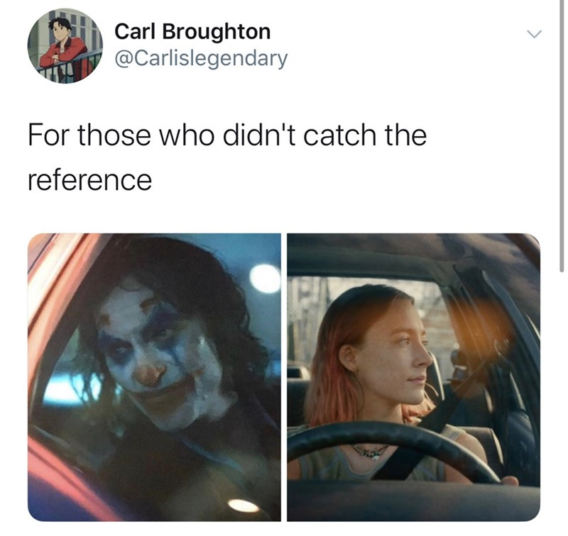 Face - Carl Broughton @Carlislegendary For those who didn't catch the reference