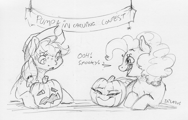 applejack dilarus halloween pinkie pie - 9373411328