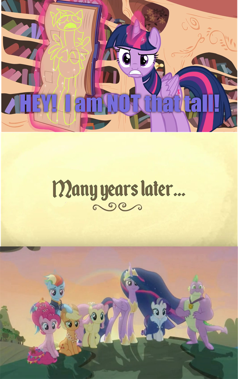 back to the future twilight sparkle testing testing 1 2 3 screencap the last problem - 9373978624