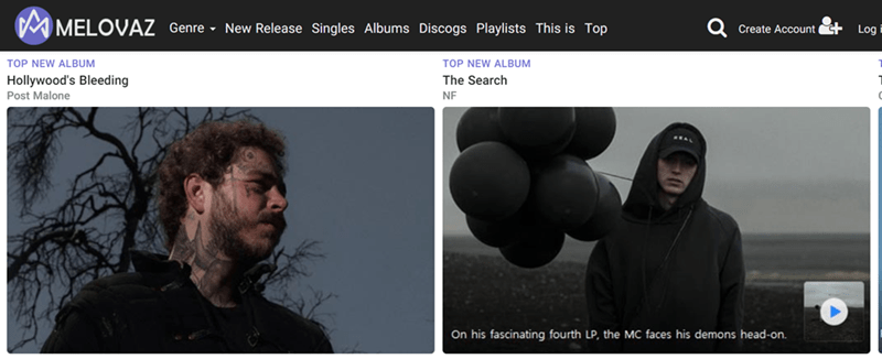Arm - MELOVAZ Genre New Release Singles Albums Discogs Playlists This is Top Create Account Log TOP NEW ALBUM TOP NEW ALBUM Hollywood's Bleeding The Search Post Malone NF On his fascinating fourth LP, the MC faces his demons head-on.